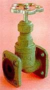 Клапан (вентиль) чугунный запорный фланцевый РУ25 15КЧ12П в Ростове-на-Дону